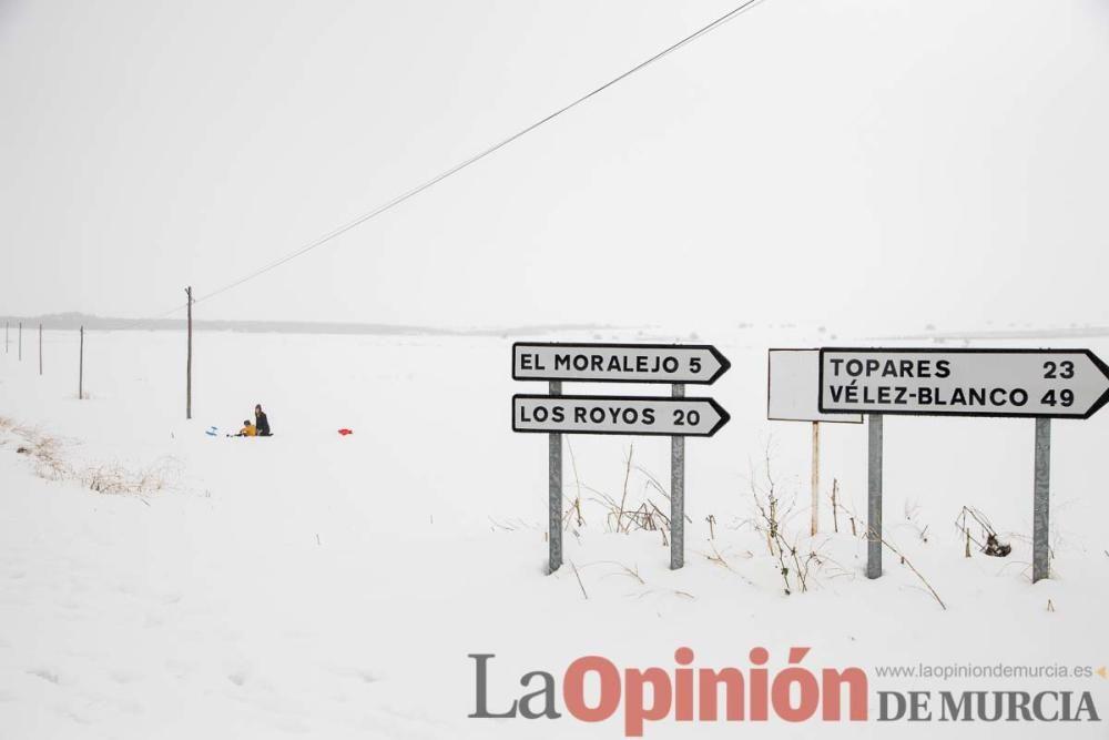 Temporal en el Noroeste (pedanías de El Moral y El