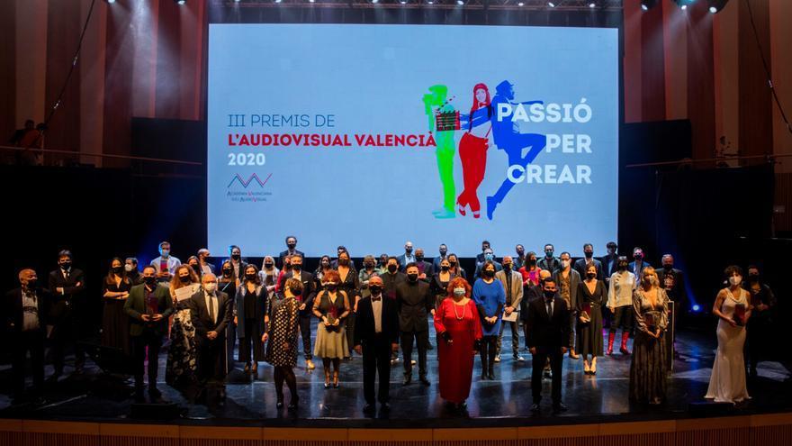 «La mort de Guillem» triunfa en la fiesta del audiovisual valenciano