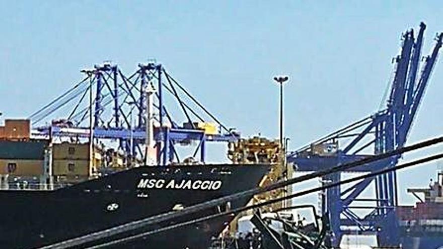 Valenciaport obvia el accidente en MSC y registra un récord de tráfico en septiembre