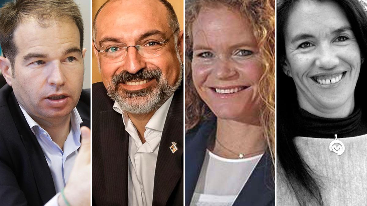 Carlos Sanlorenzo, Andreu Serra, Corinna Graf y Natascha Weber