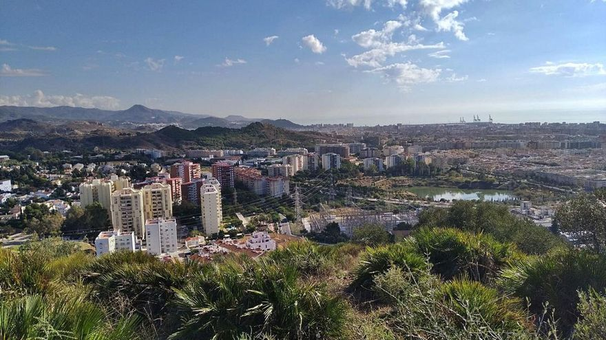 El Atabal, el monte de las mejores vistas de Málaga