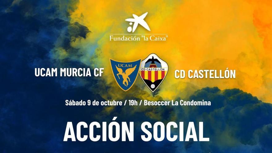 El UCAM Murcia CF recogerá ropa para los afectados por el volcán