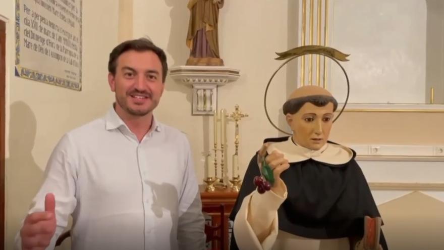 VÍDEO | La Vall d'Uixó abre la programación adaptada de las fiestas de Sant Vicent con un pregón virtual