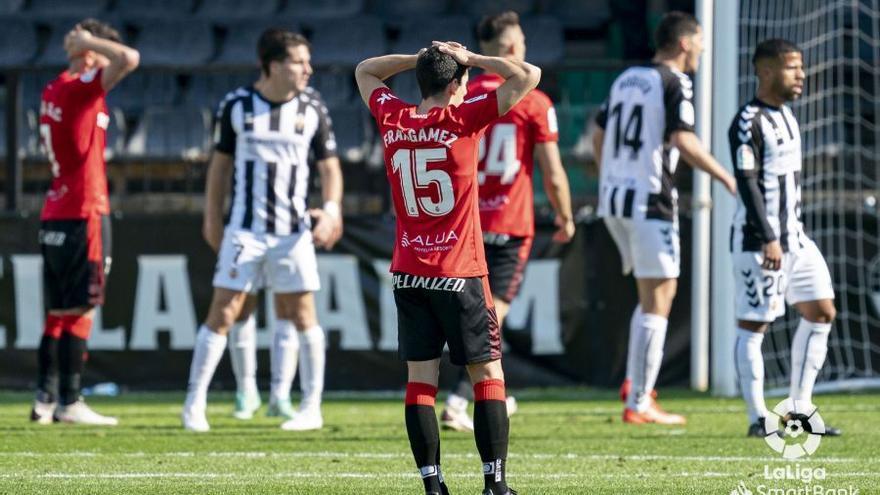 Vea aquí el gol y el resumen de la derrota del Mallorca ante el Castellón (1-0)