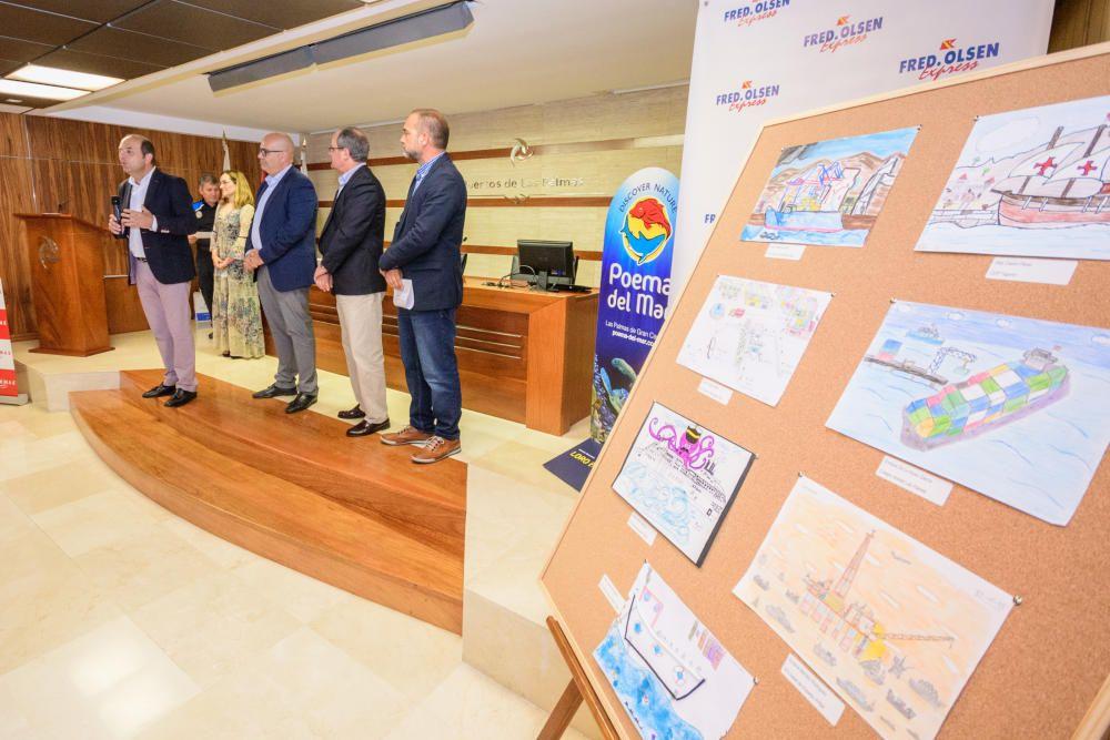 Premios del concurso de dibujo Autoridad Portuaria