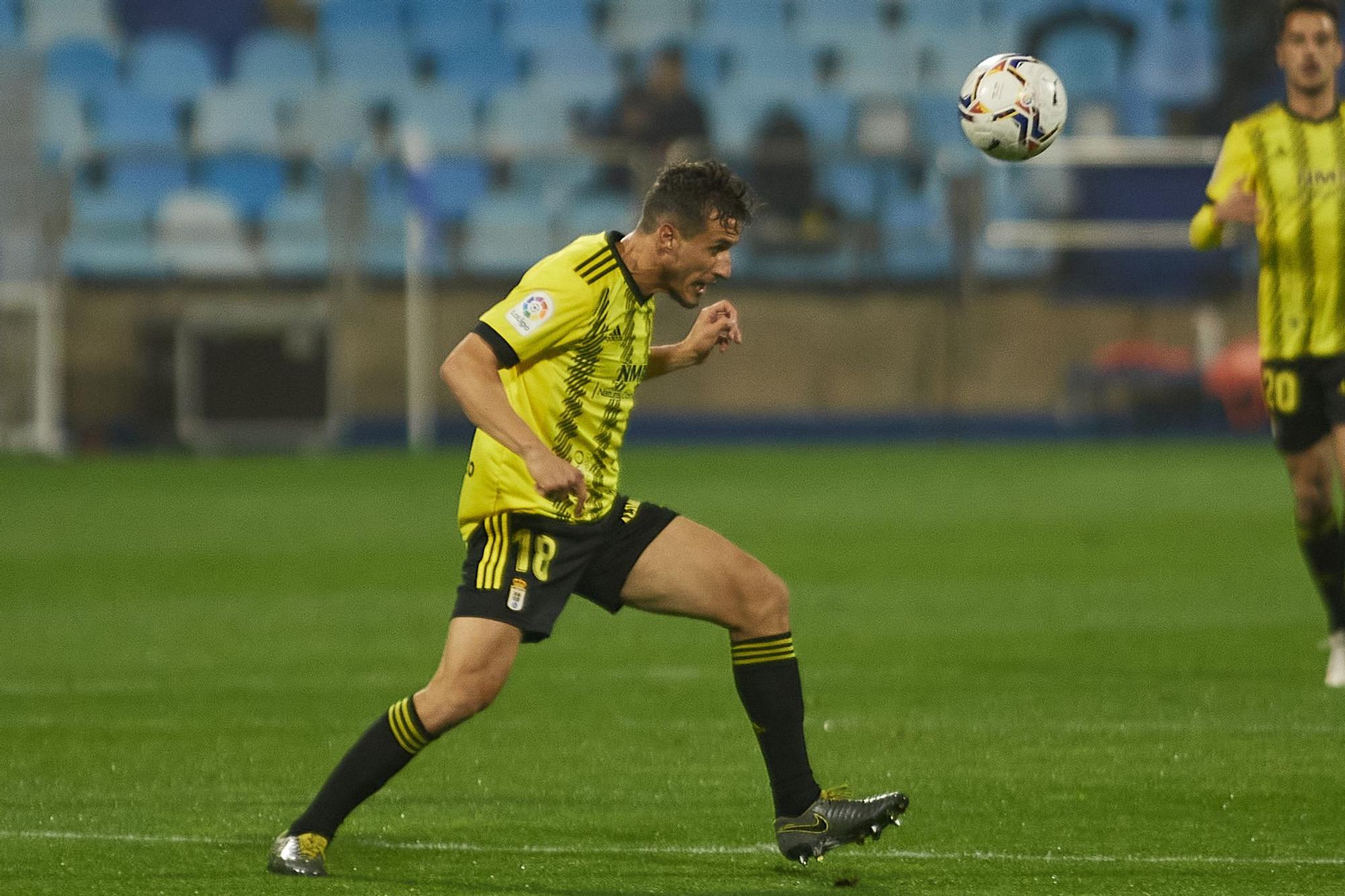 Las imágenes del partido entre el Zaragoza y el Oviedo (1-2)
