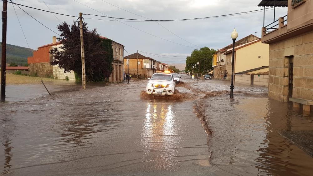 Tormentas granizo en Galicia