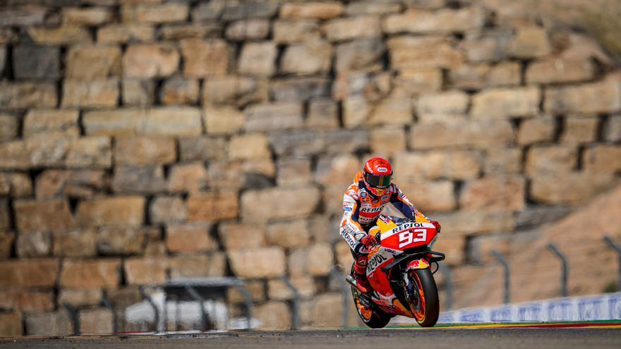 Así queda la clasificación de MotoGP tras el GP de Aragón