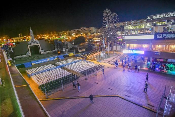 San Bartolomé de Tirajana. Suspensión Carnaval de Maspalomas  | 11/03/2020 | Fotógrafo: José Carlos Guerra