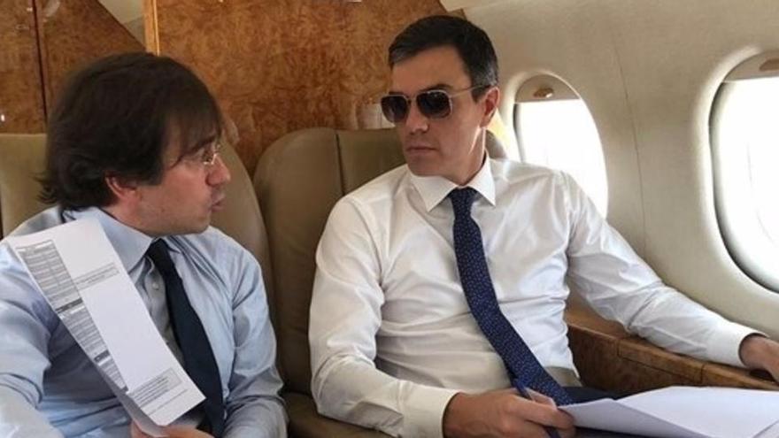 El Gobierno rechaza facilitar datos de los acompañantes de Sánchez en los Falcon