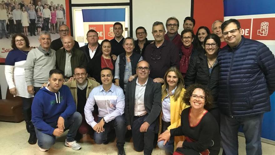Alejandro Ramos, reelegido secretario general del PSOE en Telde