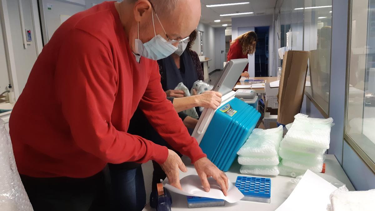 La vacuna de la Covid llega a València para iniciar hoy la vacunación contra el coronavirus en la Comunitat Valenciana.