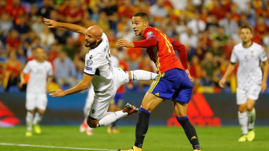 España vence a Albania y sella su pase al Mundial