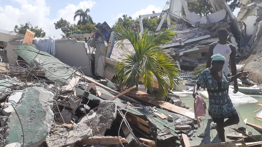 El terremoto de Haití deja ya 724 muertos