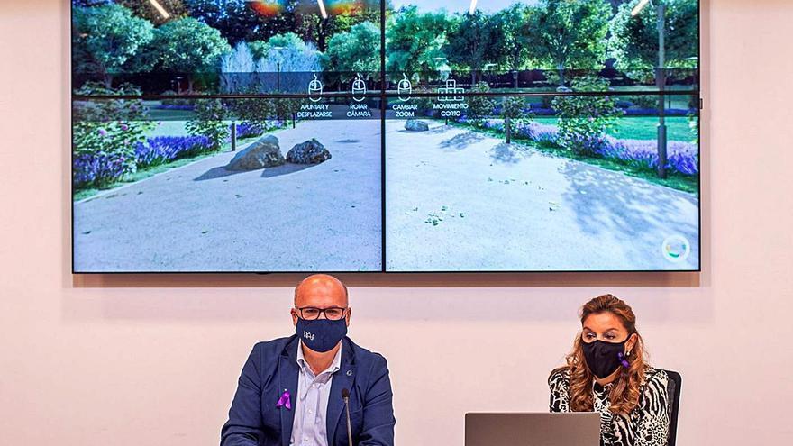 Diputación y Pereiro crean el Parque da Igualdade con el nombre de 174 víctimas