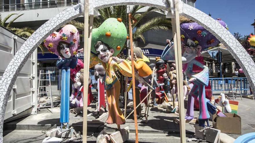 Hogueras de Alicante 2018: Los monumentos más ácidos