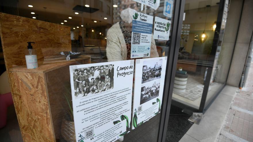 Los comercios de Loureiro Crespo exponen la historia del barrio