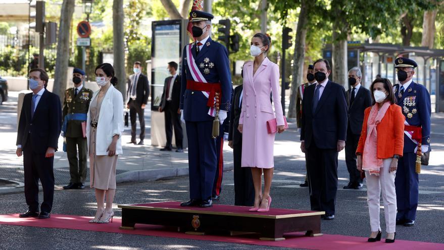 Día de las Fuerzas Armadas: Felipe VI destaca que España avanzará unida para superar la covid como gran país que es
