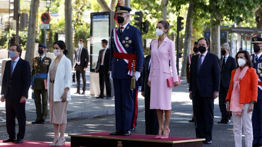 Los Reyes presiden el Día de las Fuerzas Armadas sin desfile por la pandemia