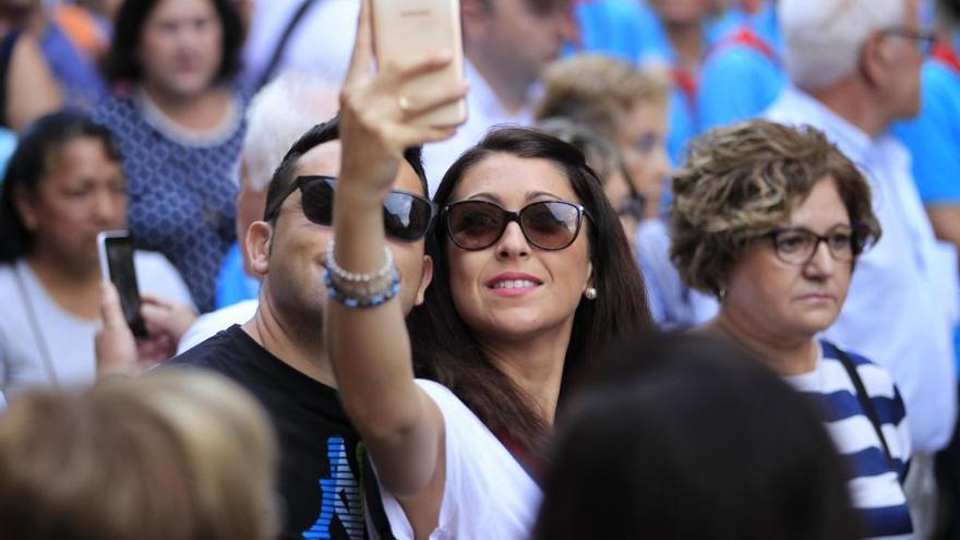 La moda de los 'selfies' se apunta a la Romería