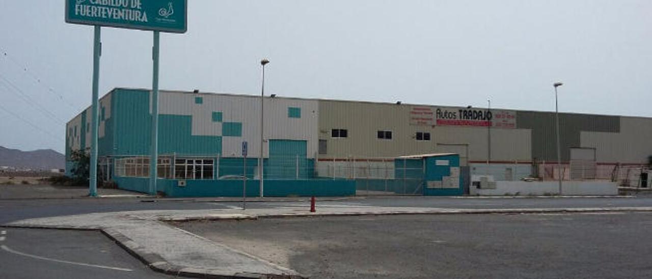 Nave adquirida por el Cabildo de Fuerteventura en la zona industrial de El Cuchillete, en el municipio de Tuineje.