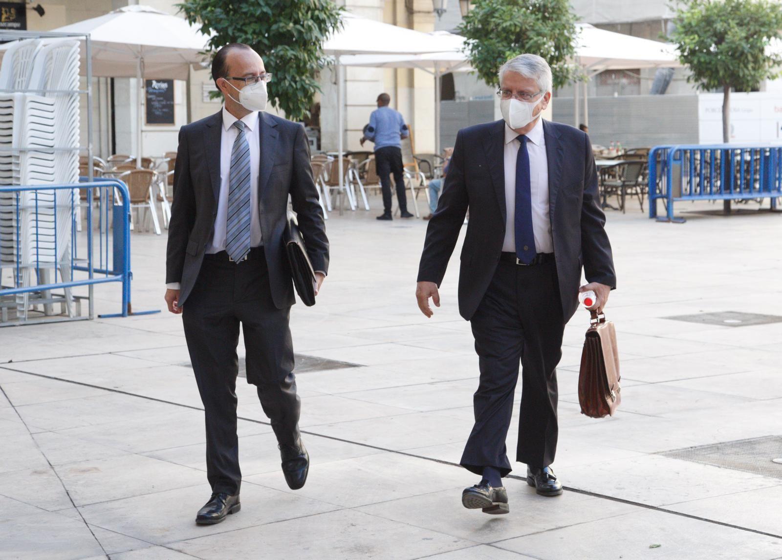 Sexta sesión del juicio por los amaños del PGOU de Alicante