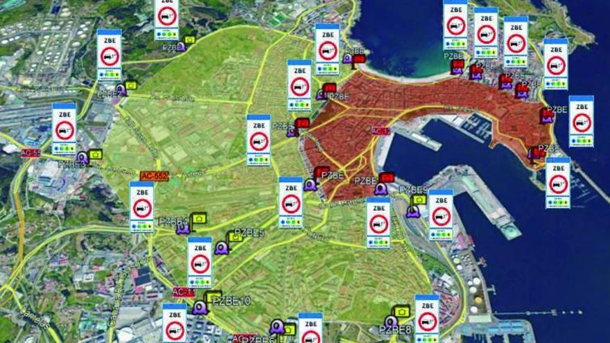 Un sistema con sensores y paneles informará de las plazas libres en la ORA y los 'parkings'