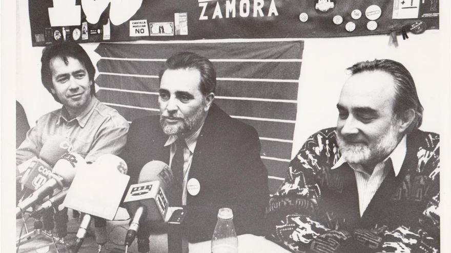 """Francisco Guarido recuerda a Julio Anguita, """"un buen político de izquierdas"""""""