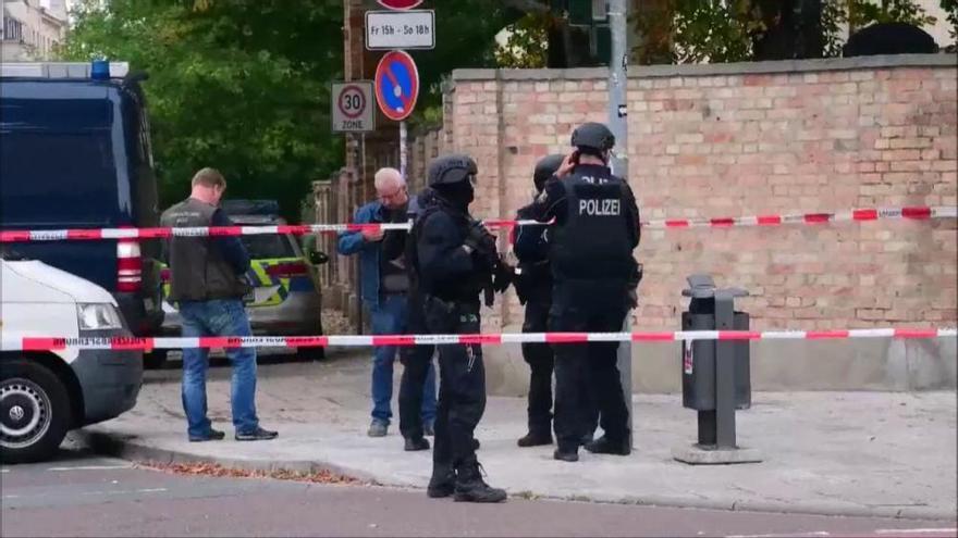 Dos morts en un tiroteig al costat d'una sinagoga a la ciutat alemanya de Halle