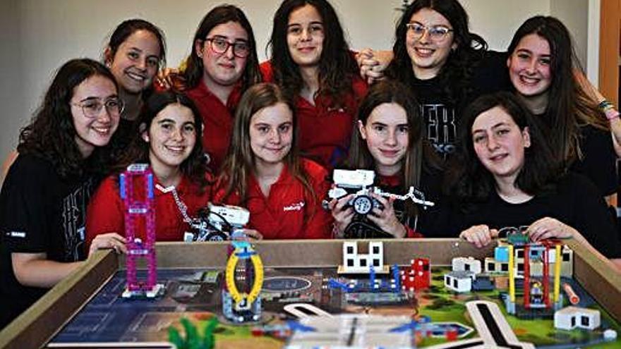 Musgo, robots y científicas en la ESO