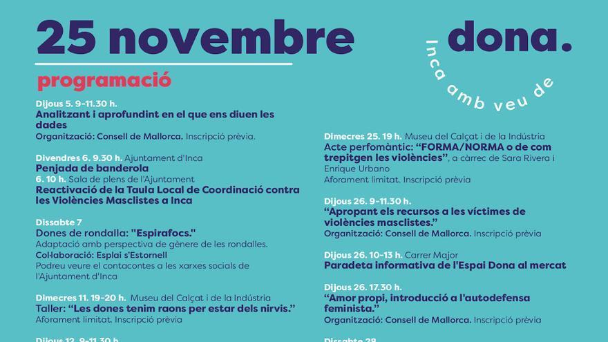 Inca amb veu de dona - 18 novembre
