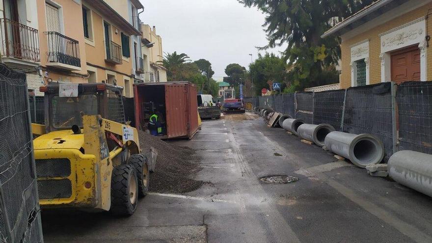 Arrancan las obras de saneamiento en la calle San Antonio de Sant Joan