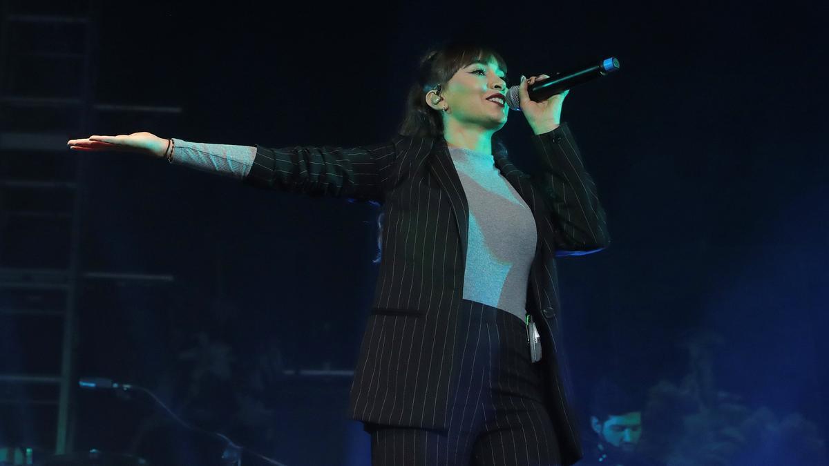 Aitana arranca en Barcelona su gira '11 Razones Tour'.