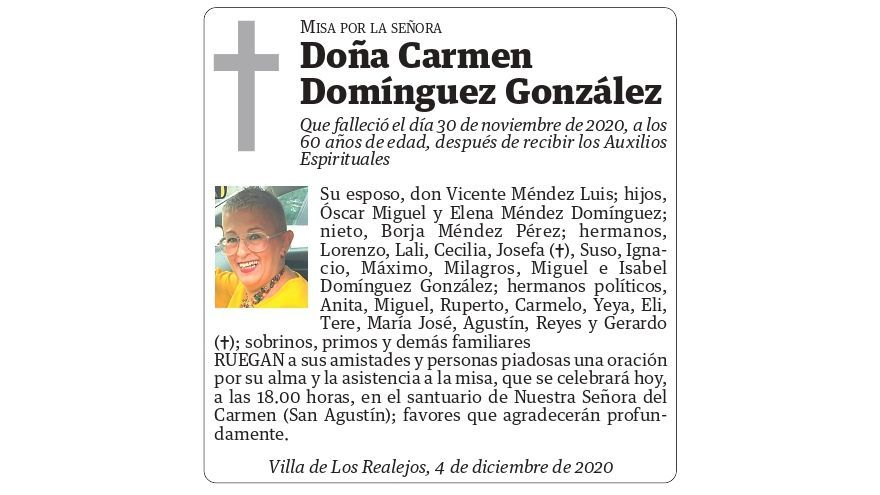 Carmen Domínguez González