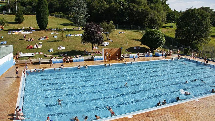 Brazadas por las piscinas de Pénjamo