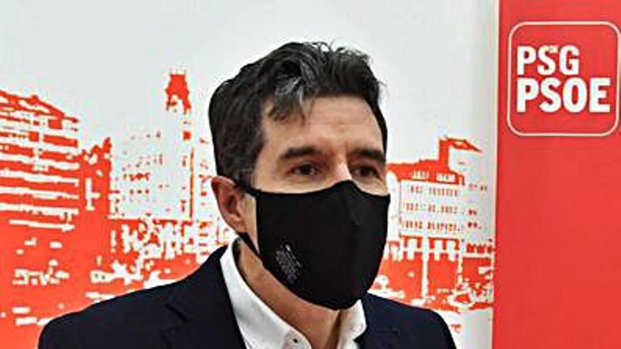 """Arangüena exige """"compromiso"""" a la Xunta para la reactivación de la ciudad y la comarca"""
