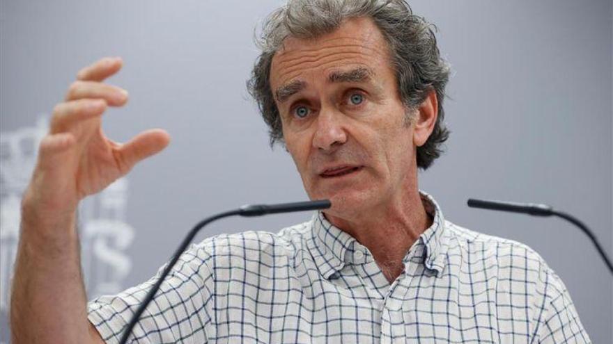 Simón no ve «probable» tener que confinar las comarcas con brotes en Aragón