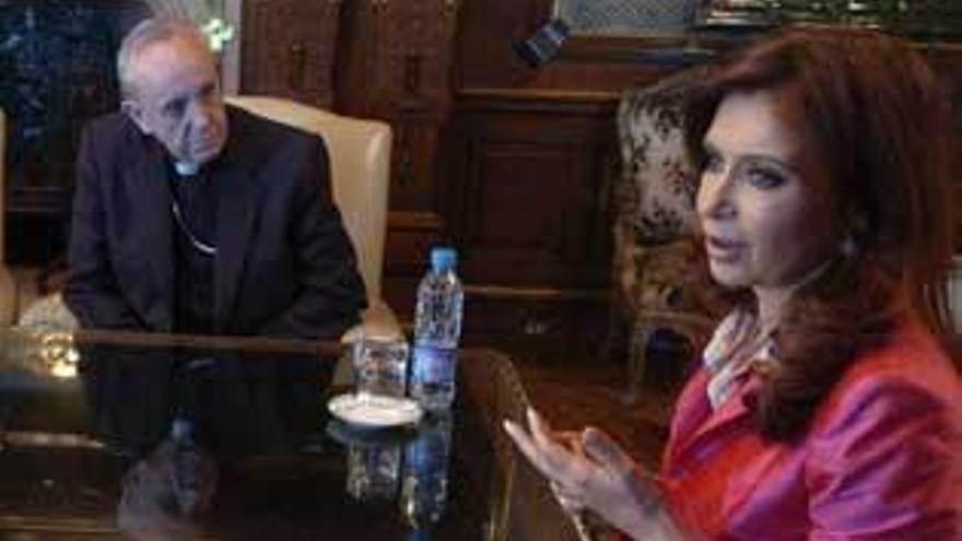 El papa Francisco recibirá el lunes a la presidenta de Argentina