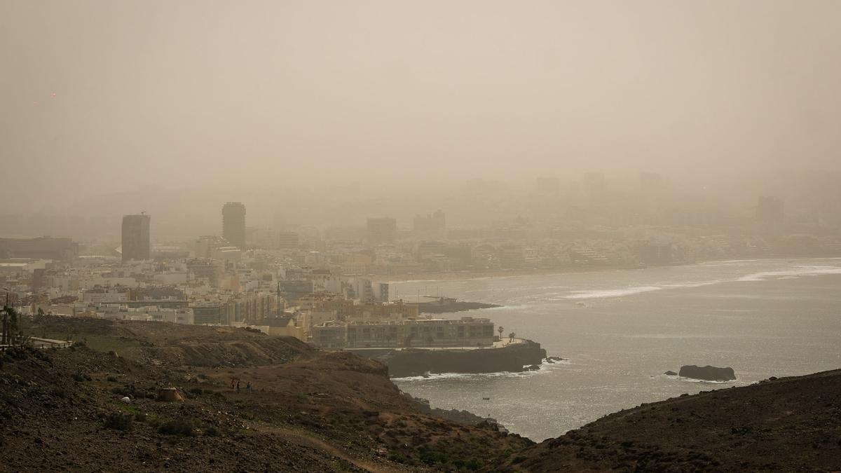 Calima in Las Palmas de Gran Canaria