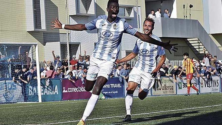 El mejor Nuha en el momento decisivo para el Atlético Baleares