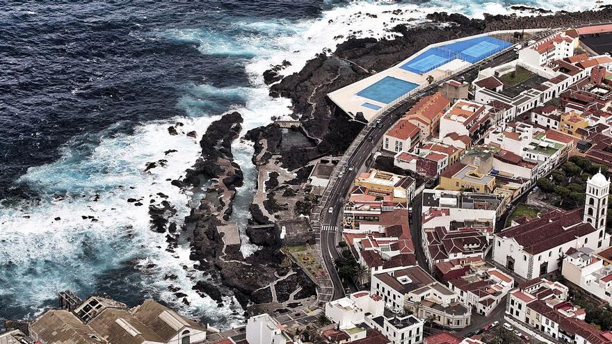 Europa aporta  2,6 millones para proteger a Garachico de la subida del mar