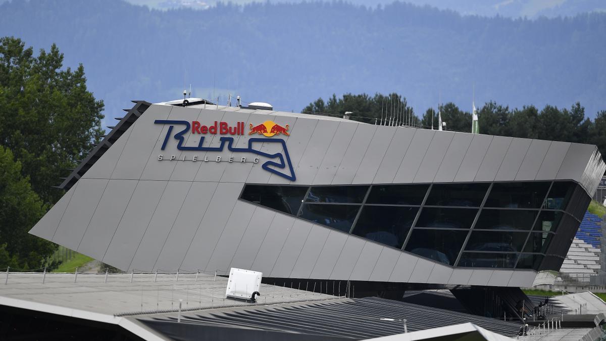 Vista general del Red Bull Ring de Spielberg.
