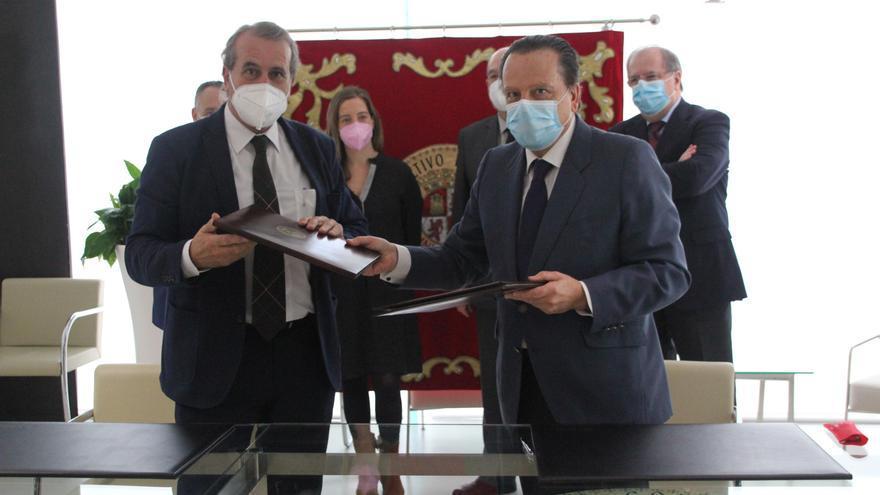 Consultivo de Zamora y Consejo de Cuentas firman un acuerdo sobre contratación pública