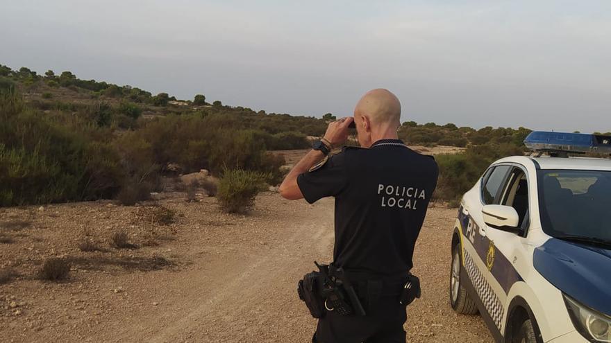 La Policía de Elche interviene varias armas en el comienzo de la temporada de caza