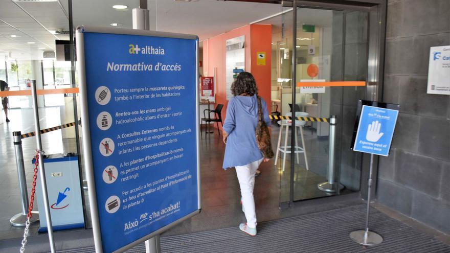 Althaia  permet l'acompanyament de pacients ingressats en horari restringit
