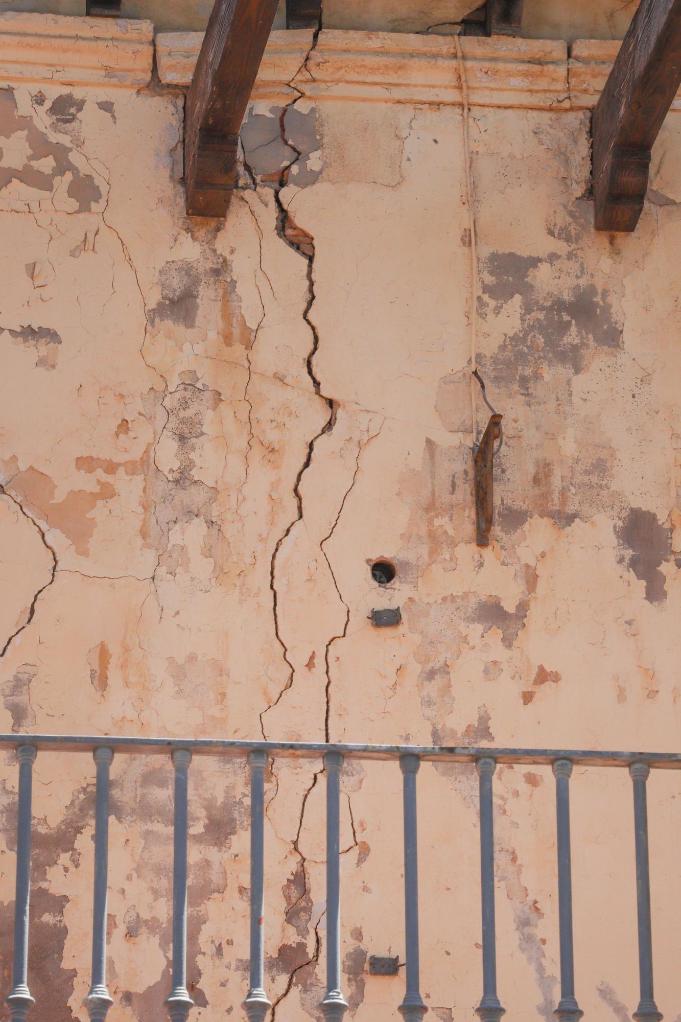 En este lamentable estado está el Palacio de Rubalcava de Orihuela