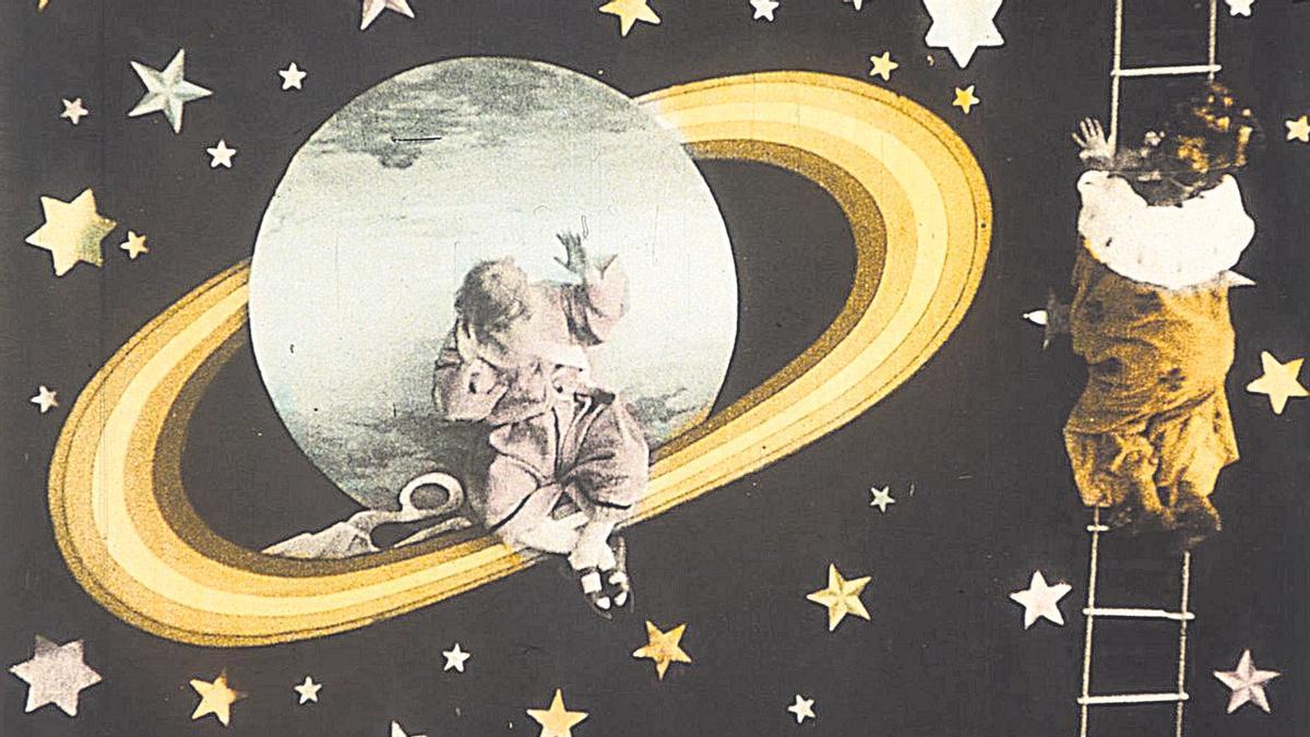 'El voyage sur Jupiter', película de Chomón de 1909.