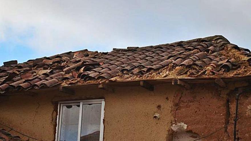 El día después del tornado en Quintanilla de Urz