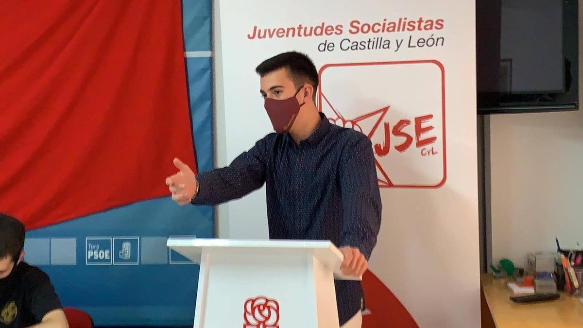 Álvaro Furones, secretario de Juventudes Socialistas de Zamora.