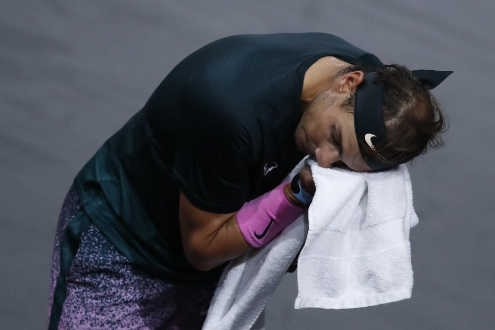 Masters 1.000 de París: Nadal - Zverev